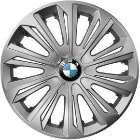 "Puklice pre BMW 16"", STRONG SIVÉ 4ks"