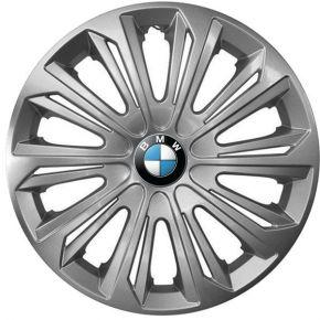 """Puklice pre BMW 16"""", STRONG SIVÉ LAKOVANÉ 4ks"""