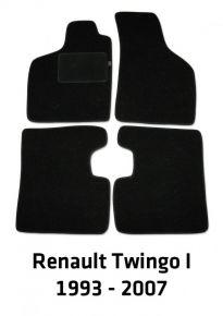 Autokoberce velúrové pre Renault Twingo I, 1993-2007